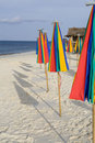 Free A Row Of Colorful Umbrellas Royalty Free Stock Photos - 8616438