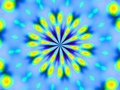 Free Blue And Yellow Vibrant Background Wallpaper Royalty Free Stock Images - 908119