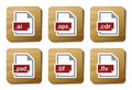 Free Graphics Files Icons | Cardboard Series Stock Image - 9358651