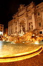 Free The Trevi Fountain At Night Stock Photo - 9394520