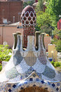 Free Park Guell, Barcelona, Spain Royalty Free Stock Images - 9395829