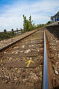 Free Devon Railway Tracks Stock Photo - 9406440