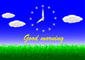 Free Morning Greeting Stock Image - 9414191