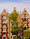 Free Old Amsterdam Houses Royalty Free Stock Images - 9433549