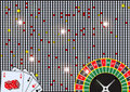 Free Casino Background Royalty Free Stock Image - 9521056