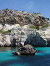 Free Blue Lagoon On Menorca Spain Stock Photo - 9761480