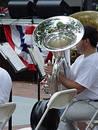 Free Tuba Player Royalty Free Stock Image - 9826