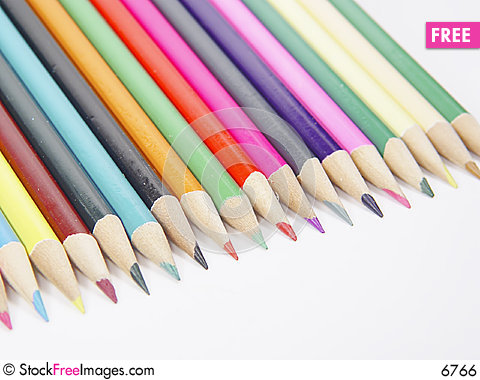 Colored Pencils 1 Stock Photo