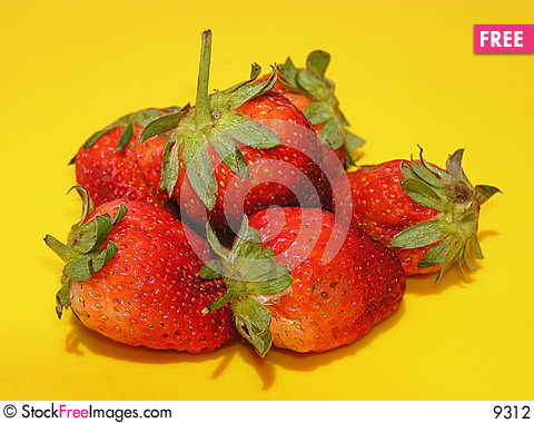 Free Strawberries Stock Photography - 9312