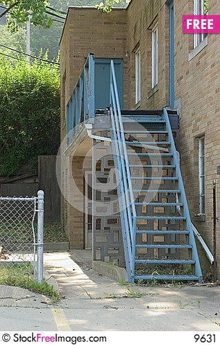 Free Blue Stairs Stock Image - 9631