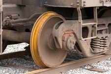 Rail Wheel Stock Photography