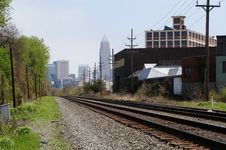Free Railway To Downtown Stock Photo - 2780