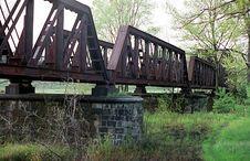 Free Old Railway Bridge Royalty Free Stock Photo - 2805