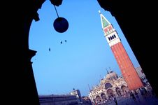 Free San Marco Campanile Royalty Free Stock Photo - 35