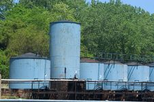 Free Storage Tanks Stock Photography - 3572