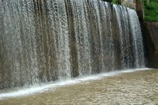 Free View Of A Dam  - Waterfall Stock Photos - 4063