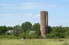 Free Abandoned Silo Royalty Free Stock Photo - 4525