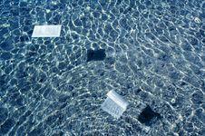 Free Papersheets In The Water - 2 Royalty Free Stock Image - 456