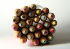 Free Colored Pencils 3 Royalty Free Stock Photography - 7527