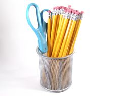 Free Scissor And Pencils Royalty Free Stock Image - 7916