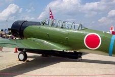 Free Nakajima Torpedo Bomber Replica Stock Photos - 8203