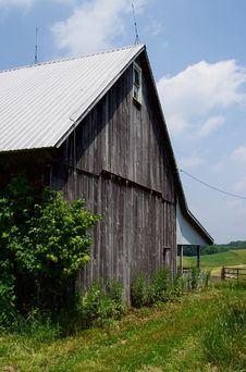Free Maryland Country Barn Stock Photo - 8730