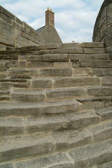Free Ancient Stone Steps Royalty Free Stock Photos - 9418