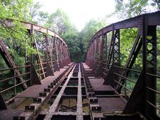 Free Abandoned Bridge Stock Image - 9491