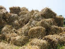 Free Straw Mountain Stock Images - 9494