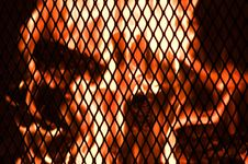 Free Backyard Fire Royalty Free Stock Image - 9816