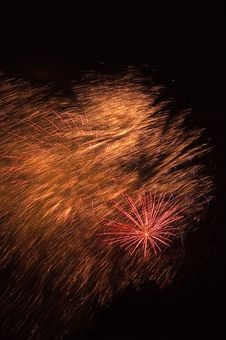 Free Fireworks Burst Stock Photo - 9960