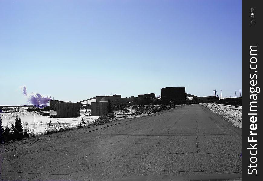 Industrial Work Site