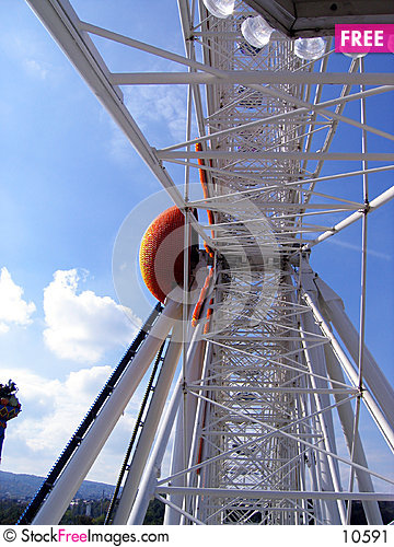 Free Inside Giant Wheel Stock Image - 10591