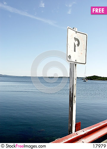 Free No Parking Sign II Royalty Free Stock Images - 17979