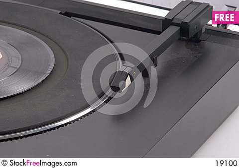 Free Linear Tracking Turntable Stock Photo - 19100