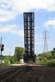 Free Railroad Draw Bridge Royalty Free Stock Photo - 10455