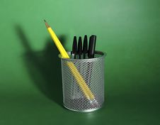 Free Pen And Pencil Holder Stock Images - 11854