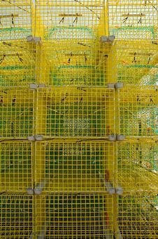 Free Lobster Traps Stock Photography - 12262