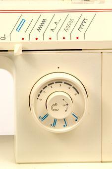 Free Sewing Machine Detail Stock Image - 12541