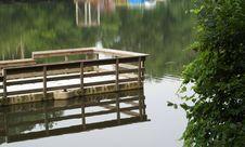 Fishing Dock Stock Photos
