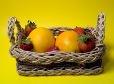 Free Fruit In Basket Royalty Free Stock Images - 13089