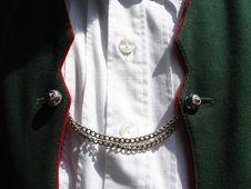 Free Bavarian Costume Waistcoat Royalty Free Stock Image - 13636