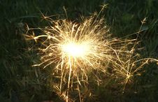 Free Sparkler Royalty Free Stock Images - 14139