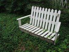 Free Picket Bench Royalty Free Stock Image - 16146