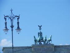 Free Brandenburger Tor - Quadriga Royalty Free Stock Photos - 16328