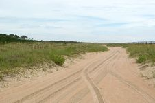 Free Dunes Roadway Stock Photo - 16560