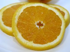Free Orange Slice Royalty Free Stock Photo - 17815