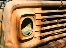 Rusty Old Truck Stock Images