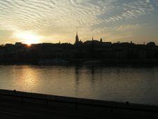 Free Budapest Skyline Stock Image - 100941