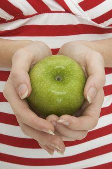 Free Green Apple 3 Royalty Free Stock Photos - 101738